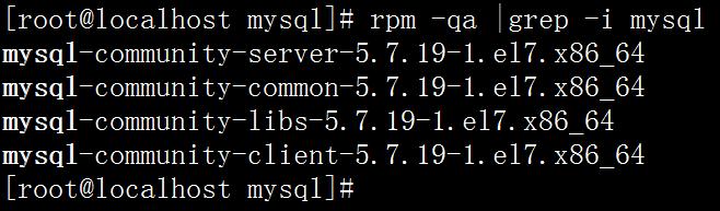 CentOS系统中彻底删除MySQL数据库的方法