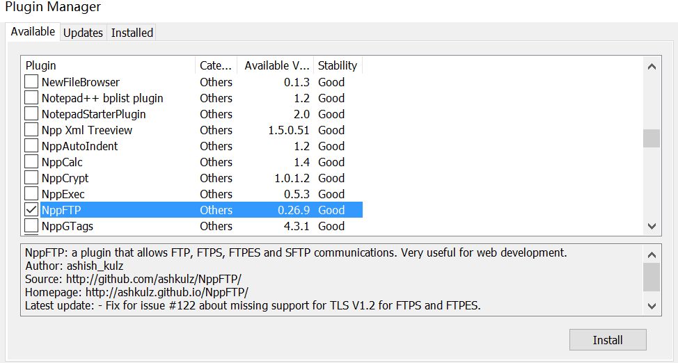 Notepad++远程连接Linux系统的方法